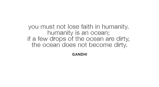 Wise Words from Gandhi
