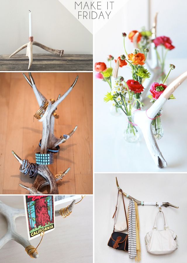 Make It Friday: Nice Rack || DIY Roundup via Jade and Fern