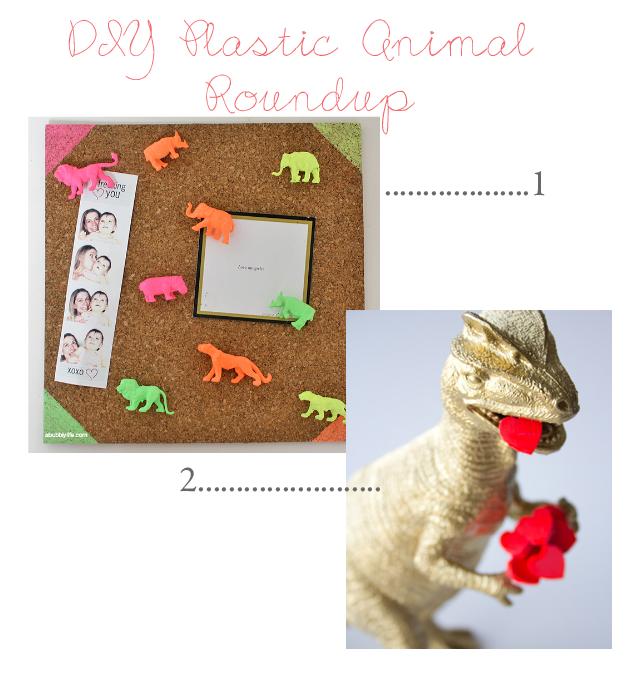 DIY Plastic Animal Roundup | Jade and Fern