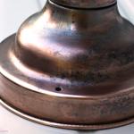 Restoring a Copper Light Fixture || Jade and Fern