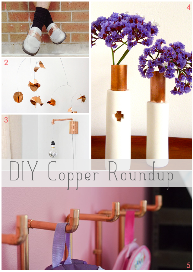 DIY Copper Roundup || via Jade and Fern