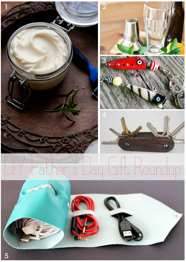 DIY Father's Day Gifts Roundup || via Jade and Fern