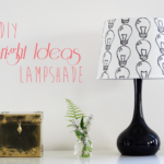 The DIY Bright Ideas Stenciled Lampshade