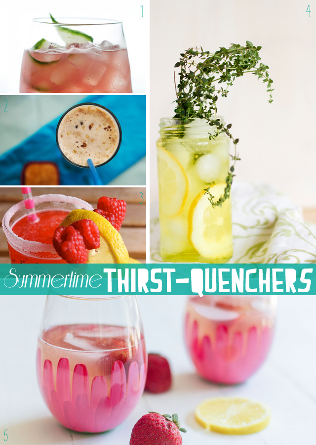 Summertime Thirst Quenchers || Jade and Fern