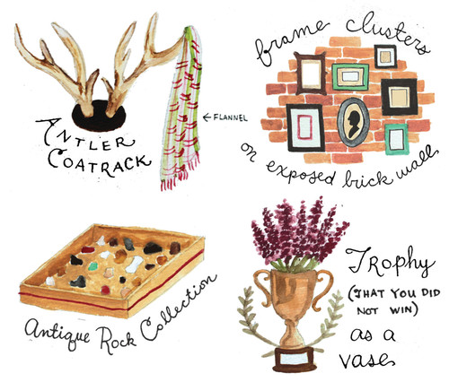 Decor Signs You're Becoming a Hipster, by Nina Montenegro