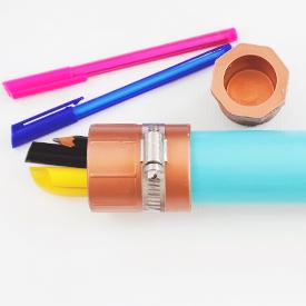 PVC Pipe Pencil Case for BuzzFeed