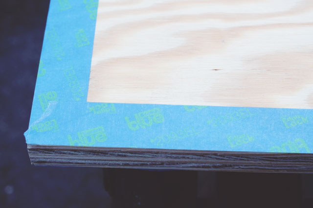 DIY Painted Edge Printer Tray || Jade and Fern