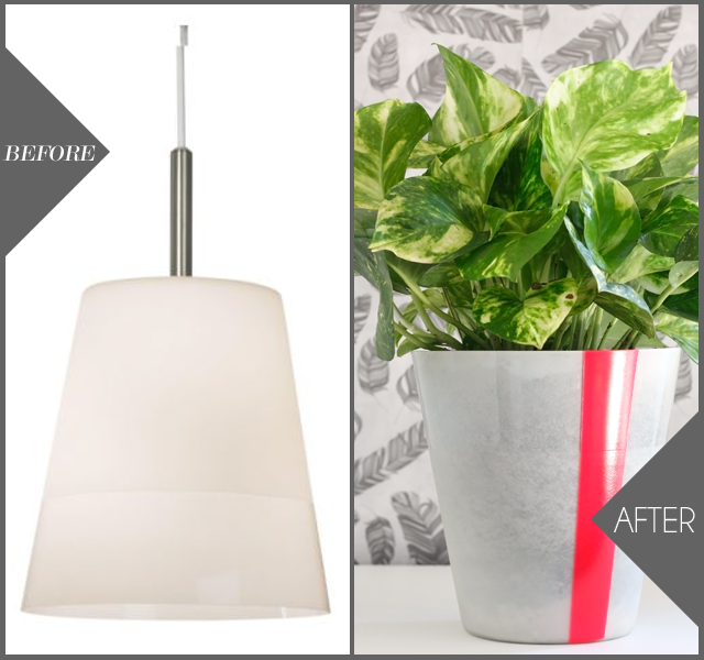 Ikea Hack: DIY Pendant to Planter || Jade and Fern