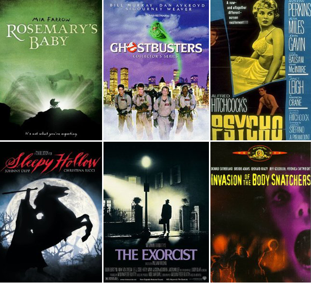 Not-too-scary Movies to Watch on Halloween || Jade and Fern
