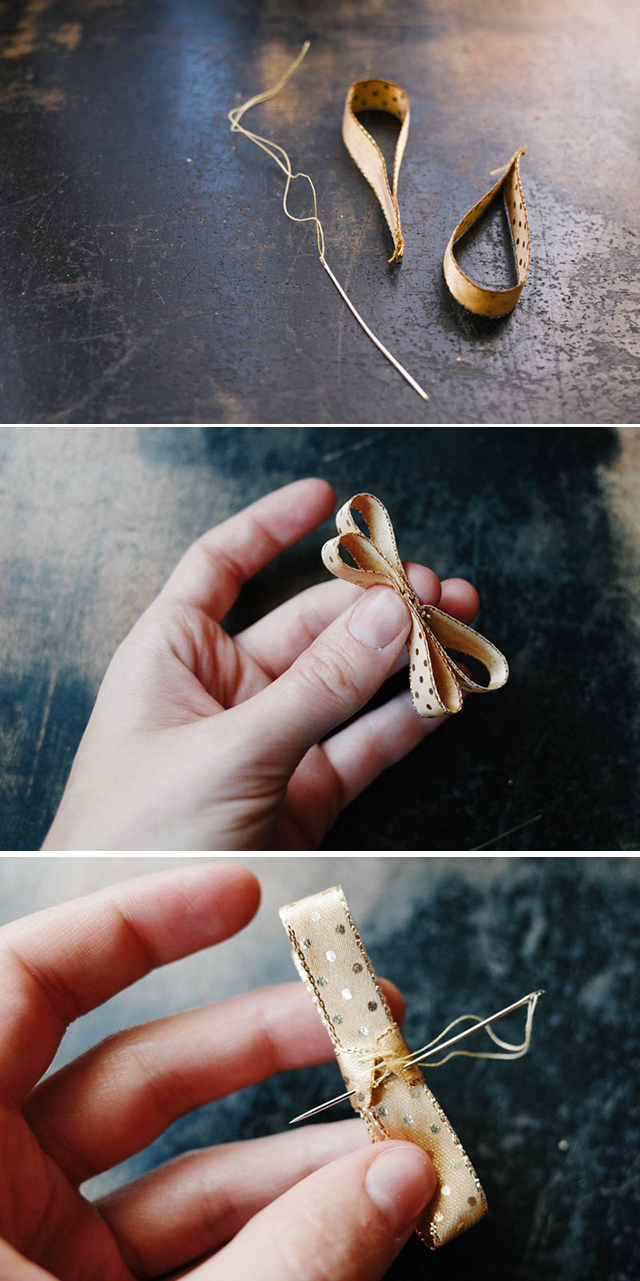 How To Make a Ribbon Bow - 3 Ways || by Kittenhood via Jade and Fern