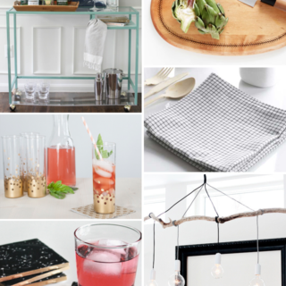 Make It Friday - Hosting || DIY Roundup via Idle Hands Awake