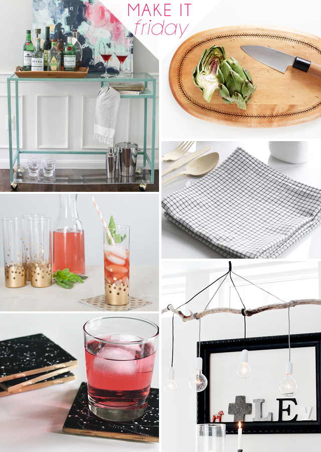 Make It Friday - Hosting || DIY Roundup via Jade and Fern