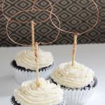 DIY Wire Pumpkin Cupcake Toppers || Jade and Fern via Paper n Stitch