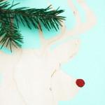 Rudolph Silhouette DIY || Jade and Fern