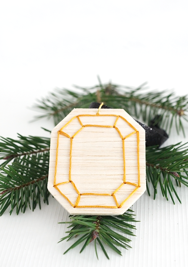 DIY Faceted Gemstone Ornaments, v.2 || Jade and Fern