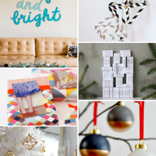 Make It Friday: Holiday DIYs @idlehandsawake