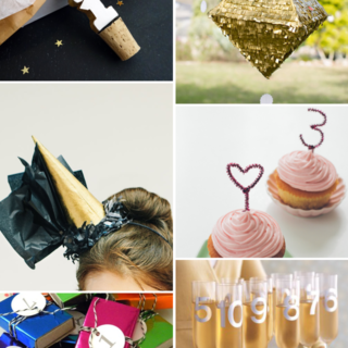 Make It Friday: Awesome New Year's Eve Party Ideas || via Idle Hands Awake