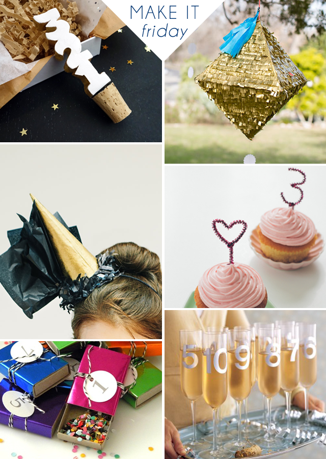 Make It Friday: Awesome New Year's Eve Party Ideas || via Jade and Fern