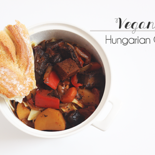 Vegan Hungarian Goulash recipe by Jade and Fern