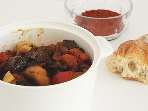 Vegan Hungarian Goulash recipe by Jade and Fern
