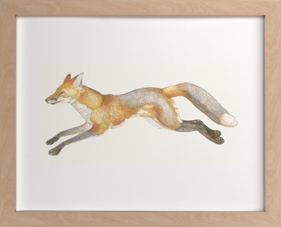 Swift Fox by Natalie Groves on Minted