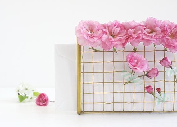 DIY Fresh Flower Letter Sorter || Jade and Fern