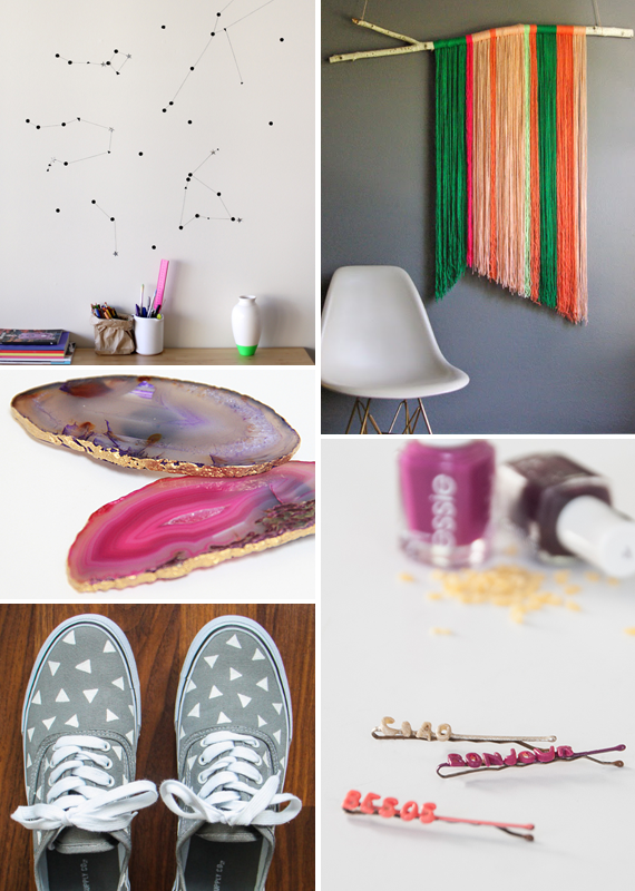 Make it Friday: Inspired DIYs via Idle Hands Awake