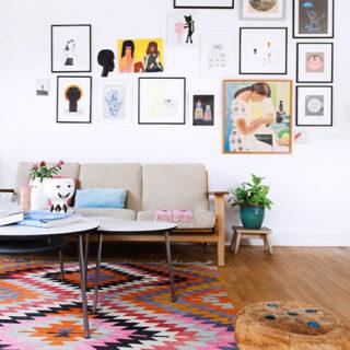 White Living Room Inspiration - home of Anne Bundgaard