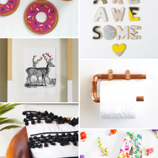 Make it Friday - DIY roundup via Idle Hands Awake