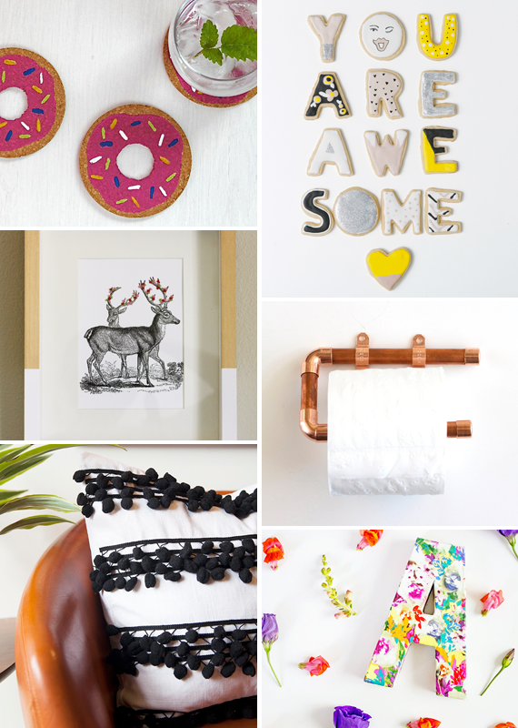 Make it Friday - DIY roundup via Jade and Fern