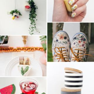 Make it Friday: Summery DIYs || Idle Hands Awake