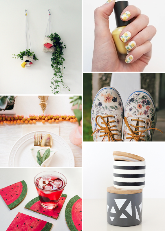 Make it Friday: Summery DIYs || Idle Hands Awake