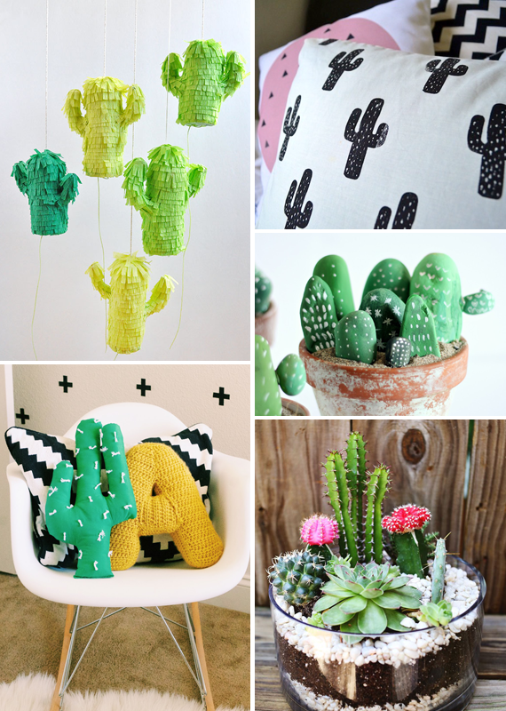 Cacti to DIY || via Jade and Fern