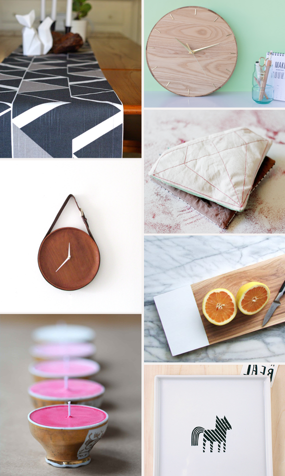 Make it Friday: Inspirational Projects from Blogland via Jade and Fern