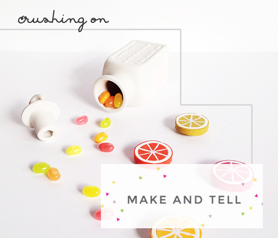 Crushing on Make and Tell blog - Feature and Interview on Jade and Fern