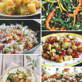 6 Vegan & Gluten Free Salads for Labor Day || via Idle Hands Awake