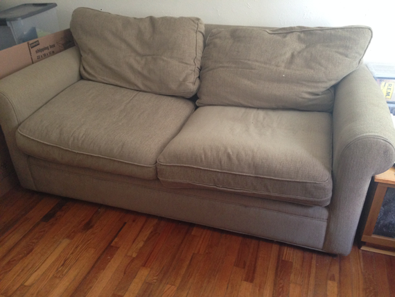 The Couch that Started it All || Jade and Fern