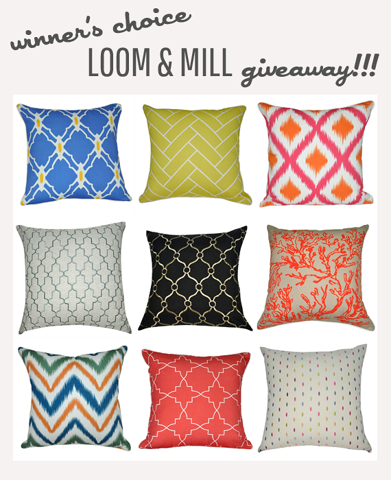 Jade and Fern Living Room Reveal PLUS Loom & Mill Giveaway!