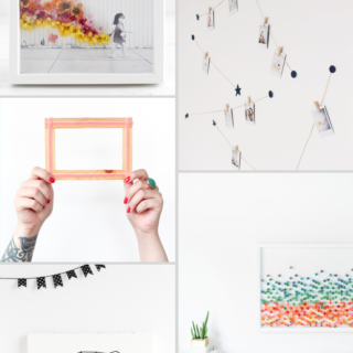 Make it Friday: DIY Art Projects via Idle Hands Awake