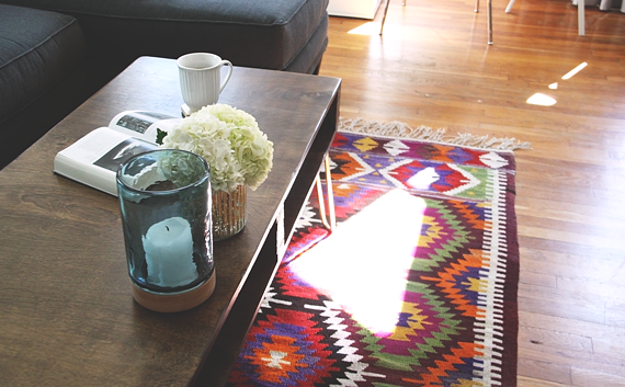 DIY Storage Coffee Table by Idle Hands Awake