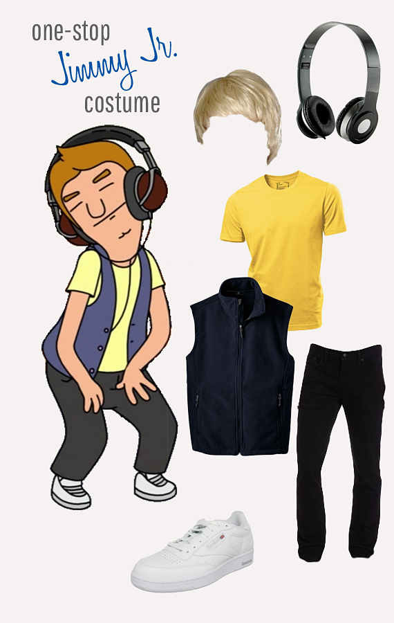 Be the Jimmy Jr. to somebody's Tina - everything you need for your Halloween costume!