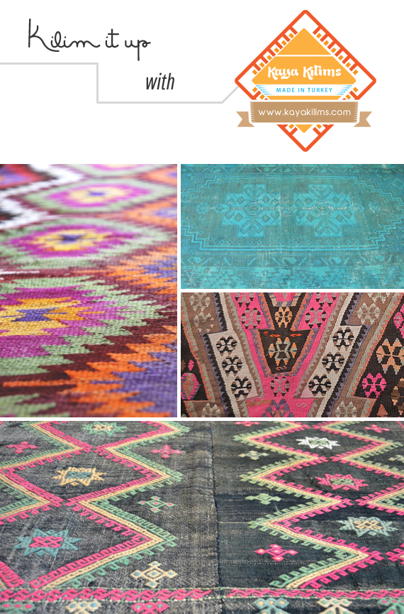 Vintage rugs and more from Kaya Kilims