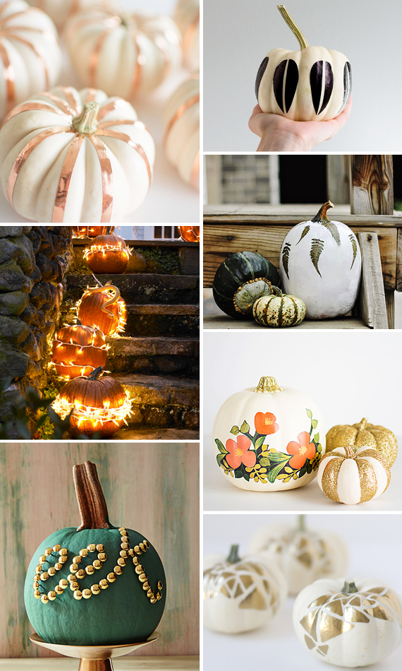 7 Super Last-Minute No-Carve Pumpkins for the Procrastinating Decorator