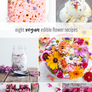 Eight Vegan Edible Flower Recipes for Spring