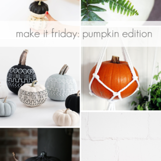 Make it Friday: Pumpkin Edition