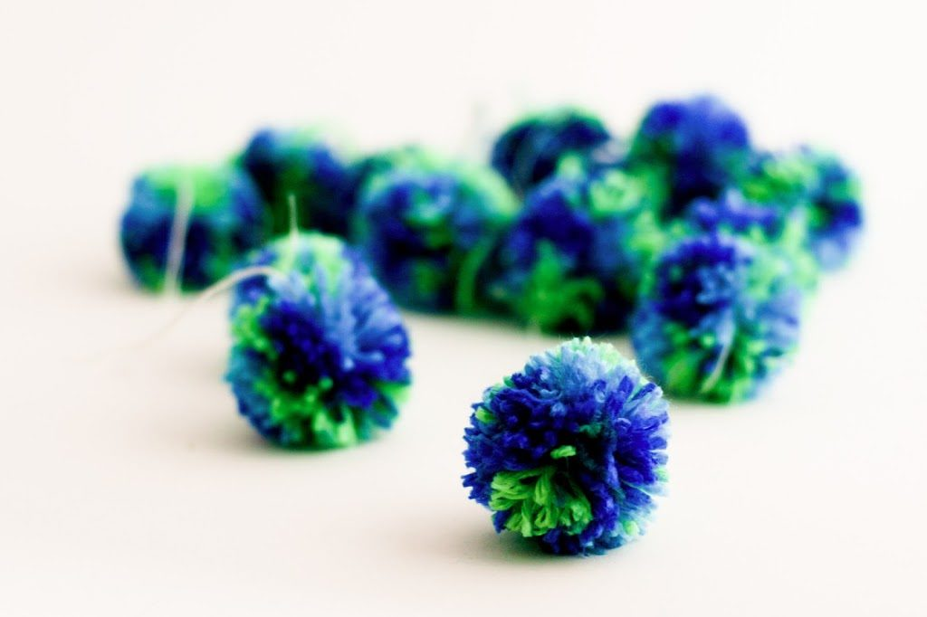 Bulk Pom Poms by Flax and Twine