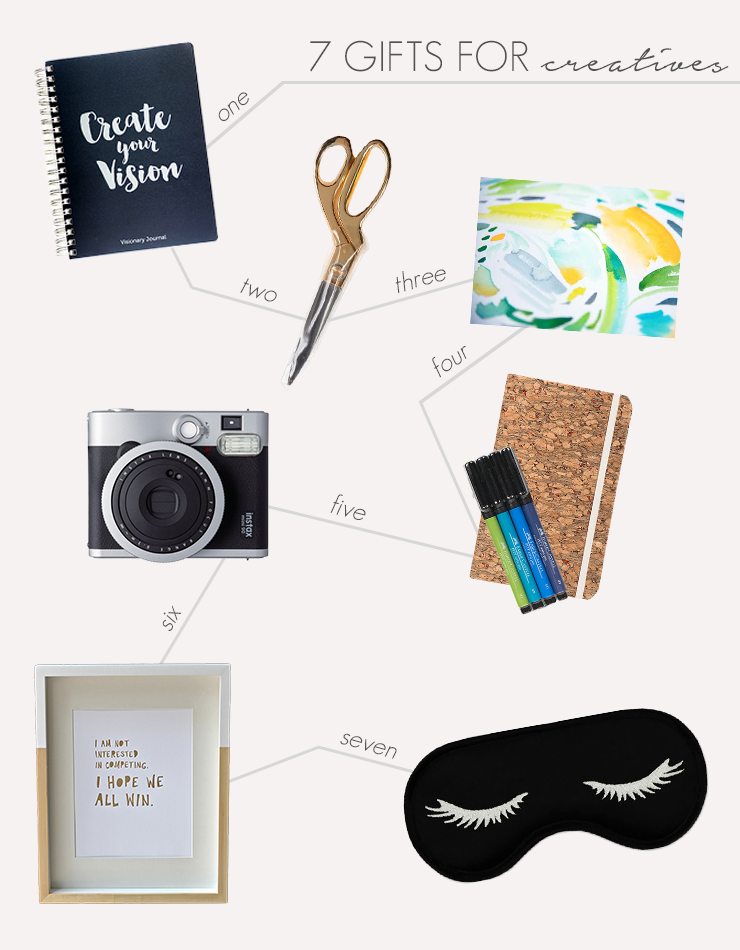 Gift Guide for Creatives @idlehandsawake