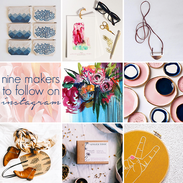 Nine Makers to Follow on Instagram
