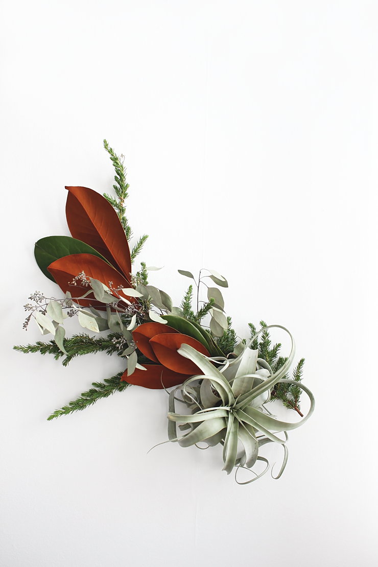 DIY Modern Air Plant Garland by Idle Hands Awake