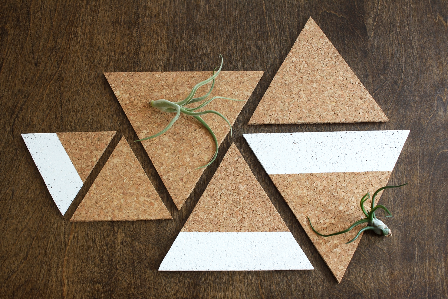 DIY Cork Triangle Trivet